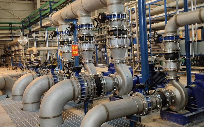 北京经济技术开发区再生水智能制水工程项目
